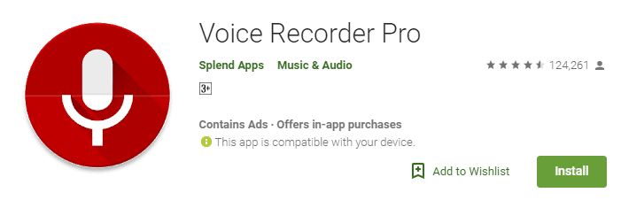 free voice recorder for mobile